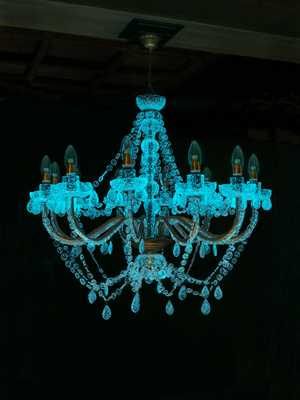 young-glass_rui-sasaki_weather-chandelier_3jpg - Rui Sasaki (Japan) - Weather Chandelier. Photo: Kiichuro Okamura