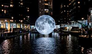 move-for-life - Museum of the Moon by British artist Luke Jerram