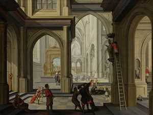 iconoclasm-in-a-church-dirck-van-delen-1630-rijksmuseumjpg - Public Domain